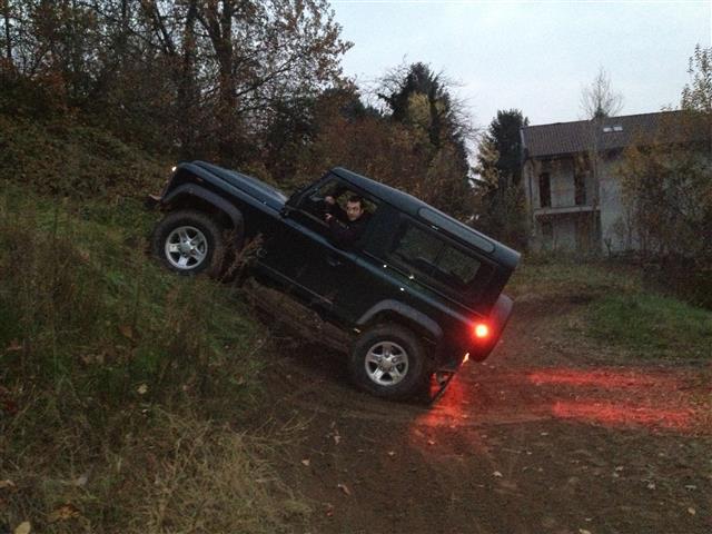 Land Rover Defender: la mia prova alla guida