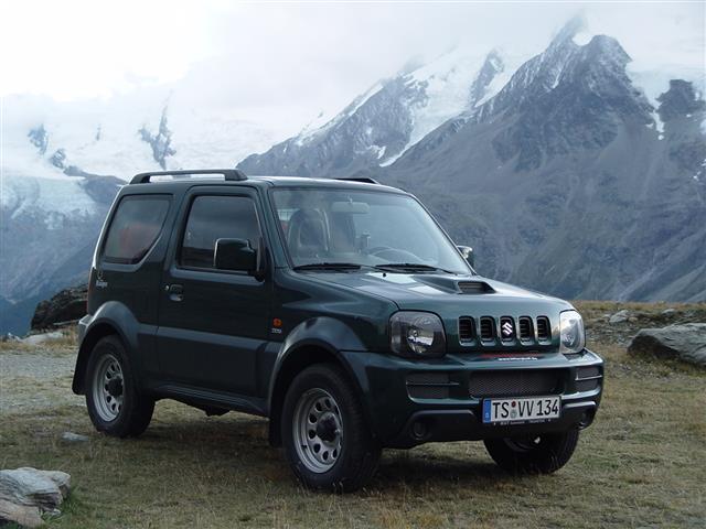 Suzuki Jimny: agile ed economica