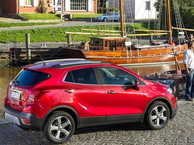 Opel Mokka: accattivante mini SUV