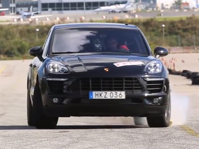 Porsche Macan fallisce il temuto Moose Test
