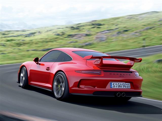 Porsche 911 GT3: prepotente supercar da sogno