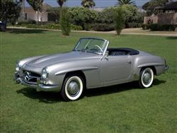 Mercedes 190 SL: animo californiano