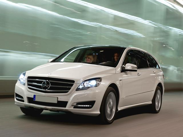 Mercedes Classe R: station wagon o monovolume?