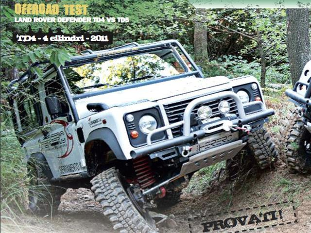 Land Rover Defender: TD4 e TD5 a confronto