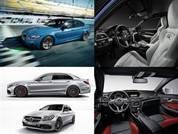 Mercedes C63 S AMG vs BMW M3: il confronto