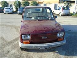 FIAT 126 652 Red