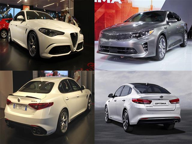 Alfa Romeo Giulia vs Kia Optima