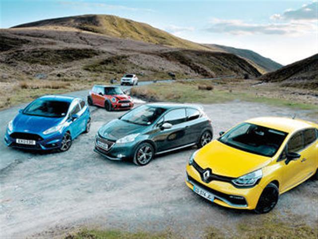 Peugeot 208 vs Renault Clio vs Ford Fiesta