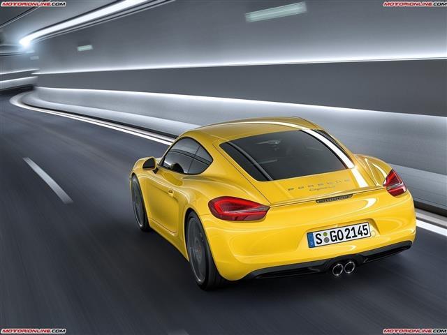 Porsche Cayman: coupé di derivazione Boxster