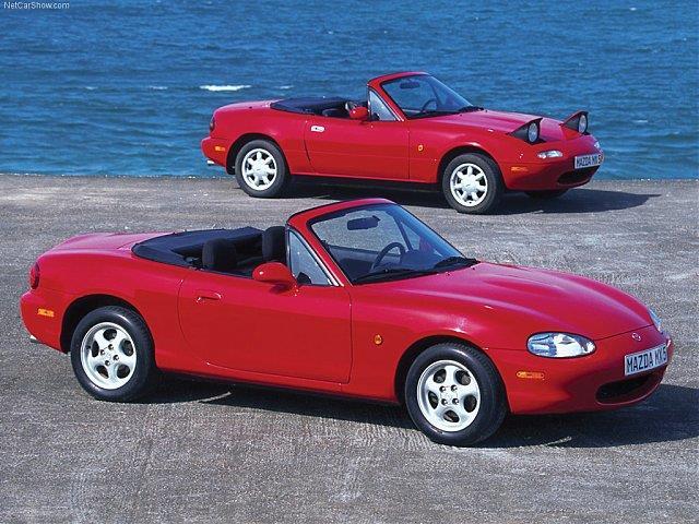 Mazda MX-5: telaio da vera sportiva